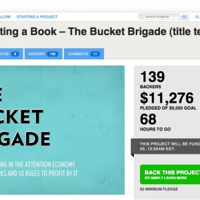 Do You Help Backing The Bucket Brigade?