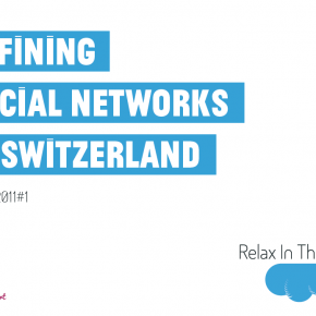 Defining Social Networks in Switzerland 2011#1